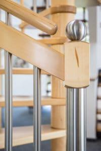 Treppenpfosten Edelstahl