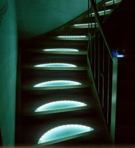 Ovale Fußtritt Beleuchtung