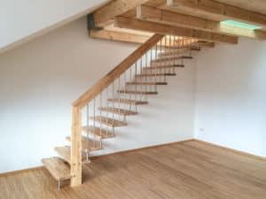 Bolzentreppe Holz