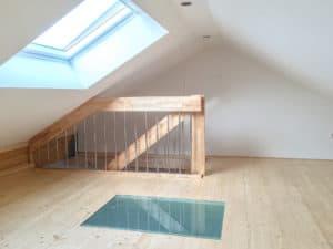 Dachgeschoss Bolzentreppe